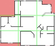 bagua floor plan