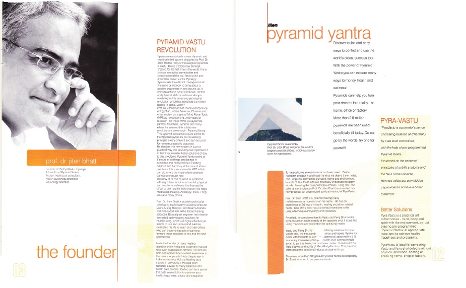 pyravaastu founder